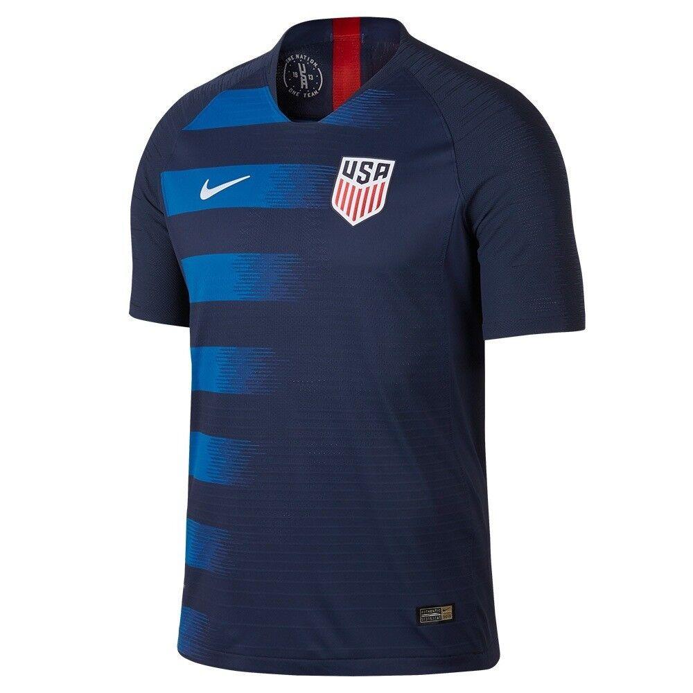 Nike United States USA USMNT 2018 Away Soccer Jersey Navy Bl