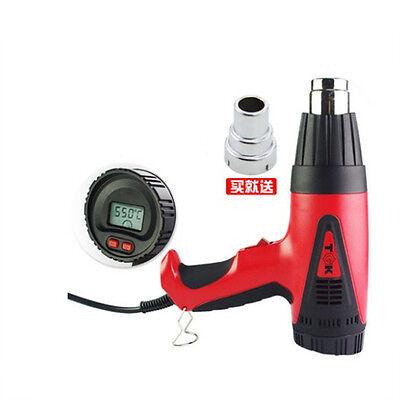 2000 Watt Dual Temperature Digital Heat Gun 400550 Hot Air Gun Hg8720e