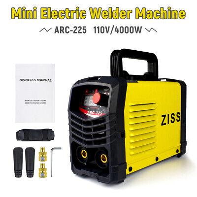 Mini Electric Welding Machine Igbt Dc Inverter Arc Mma Stick Welder 110v 225a