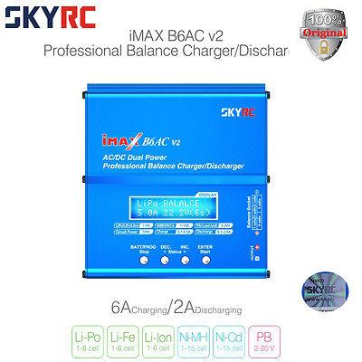 New Authentic Skyrc Imax B6ac V2 Acdc Lipo Nimh Battery Balance Charger Us