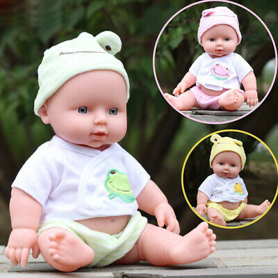 Children Emulated Soft Doll Reborn Baby Doll Toys Best Gift for Girls & Boys