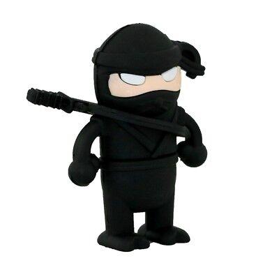herstick Geschenk Design Ninja Samurai Kämpfer Krieger (Ninja Stick)