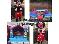Bouncy castle Popcorn & Candy floss machine Chocolate fountain Soft play hire in London area f