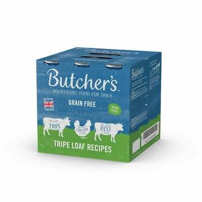 Butchers Tripe Loaf Recipes Wet Dog Food Cans - 18 x 400g