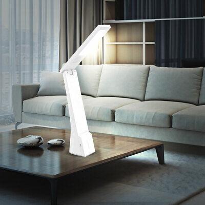 LED Lámpara De Mesa Plegable Oro Blanco Sensor Táctil Cct Cambio EEK...