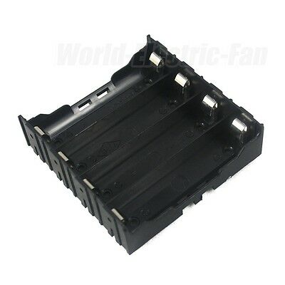 1 PCS Hold Four (4) Li-ion 18650 DIY Battery Holder Case With 8 Pins Contact