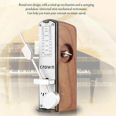 Portable Mechanical Metronome Universal for Piano Guitar Violin Ukulele E3C0