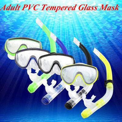 b465ceeec Swimming Diving Equipment Snorkel Mask Goggle Surf Swim Scuba Yellow Set US