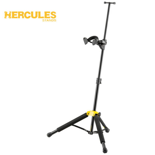 Hercules DS571BB Violin/Viola Compact Folding Stand with AGS Yoke + Carry Case