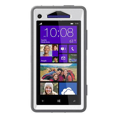 Otterbox Defender Case   Holster Clip Htc Windows Phone 8X   Glacier Grey