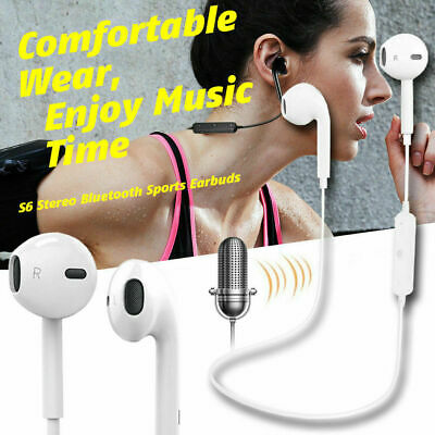 Wireless Bluetooth Earphones Headphones In Ear Earbuds For iPhone 8 X 11 Samsung