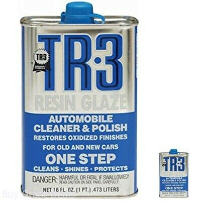 Blue Magic 12A TR-3 Resin Glaze Wax 16 fl oz Cleans Shines Polishers Car Vehicle