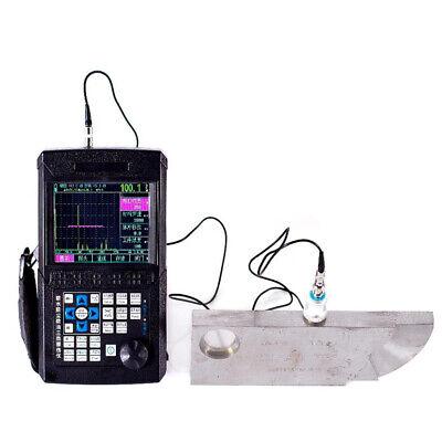 Leeb510 Digital Ultrasonic Flaw Detector 06000mm With Straight Probe