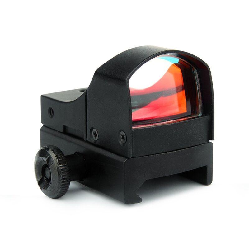 Mini Holographic Reflex 3 MOA Red Dot Sight Micro Compact 20mm Rail Scope Mount