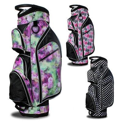 2017 Taboo Golf Women Monaco Lightweight Cart Bag NEW