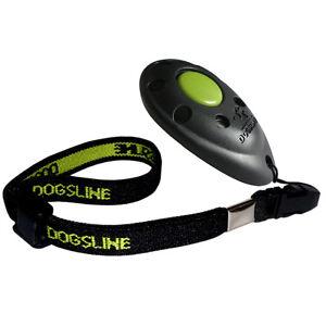 Dogsline Profi Clicker mit elastischer Handschlaufe , Klicker schwarz , DL01PA