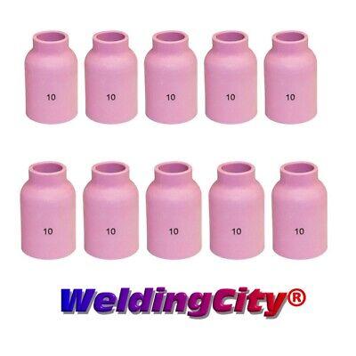 Weldingcity 10-pk Tig Welding Large Gas Lens Ceramic Cup 53n88 10 Us Seller