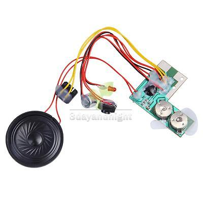 10secs 10s Sound Audio Recordable Recorder Voice Module Chip for Card New