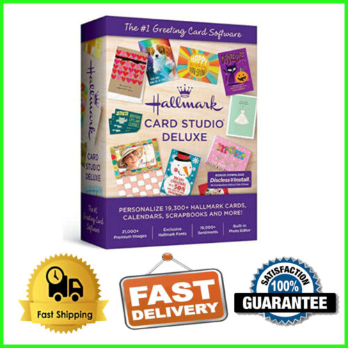 ✔️ LATEST ✔️ Hallmark Card Studio 2020 Deluxe Official Full Version ✔️Lifetime✔️