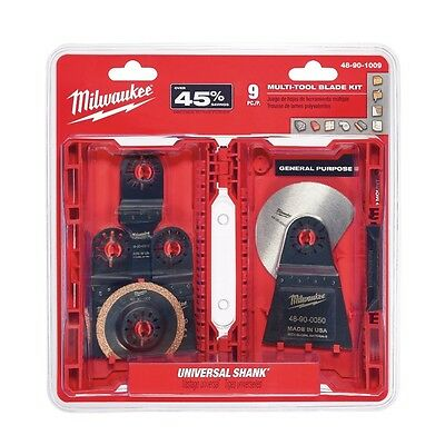 Milwaukee 48-90-1009 9 pc. Multi-Tool Blade Kit