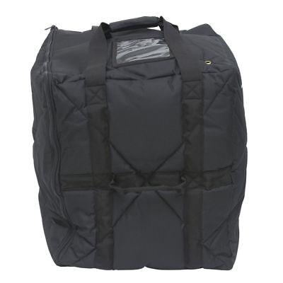 HUBERT Pizza Delivery Extra Large Bag Black Nylon Side Loading - 18