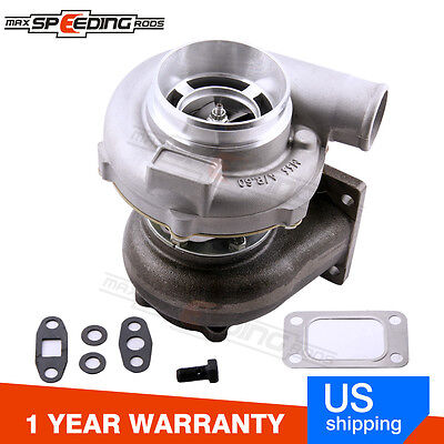 GT3076R GT3037 T3 Flange 500HP Universal Turbo Turbocharger For All 6 8 Cyl
