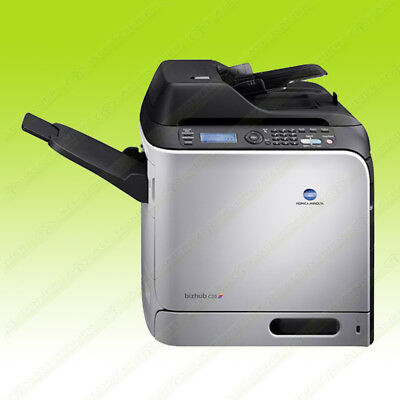 Konica Minolta Bizhub C20 Color Printer Copier Scanner Network A4 24ppm