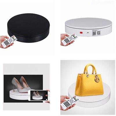 Automatic Rotary Table Photography Display Stand Remote Control Turnable Disc