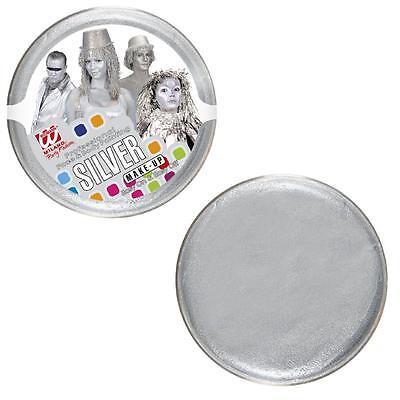 Make hasta Pintura de la Cara Tampón Plata Ps 15372 Color Body...