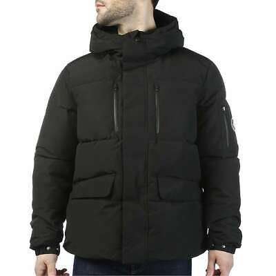 Save the Duck Arctic Packable Quilted Parka Hooded Jacket Black Size 2XL