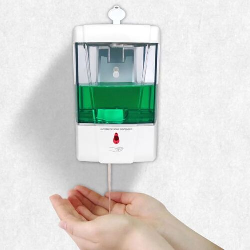 IN STOCK 700 ML Hands Free Automatic Liquid Soap Dispenser Wall Mount