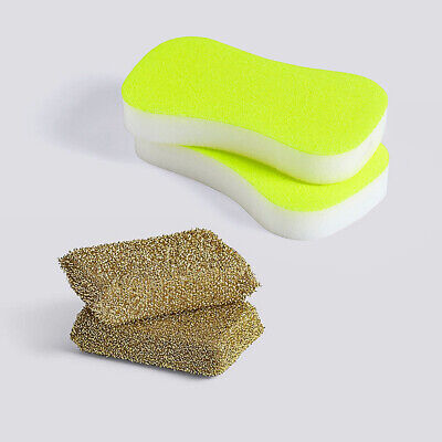 Authentic HAY Neon and Lurex Sponges, Set of 4 | Design Within Reach