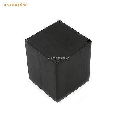 - 9090 Aluminum 90*90*105 Transformer cover Case Box protect cover black