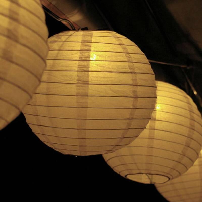 Papierlaterne 30cm Lampion Deckenhänger Hochzeit Party Geburtstag Raumdekoration