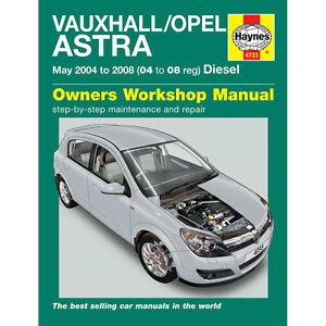Vauxhall-Astra-1-3-1-7-Diesel-2004-08-04-08-Reg-Haynes-Manual