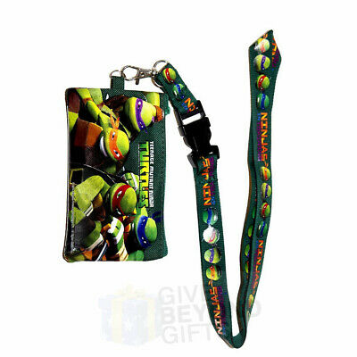 Teenage Mutant Ninja Turtle Grn Lanyard ID Ticket - Teenage Mutant Ninja Turtle Mädchen