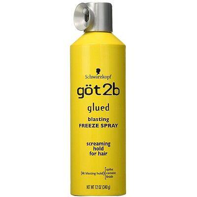 - Got2b Glued Blasting Freeze Spray 12 oz - BRAND NEW & FREE SHIPPING!
