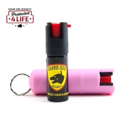 Pepper Guard (Guard Dog Pepper Spray 1/2 Oz Pink. Free Pepper Spray Replacements for)