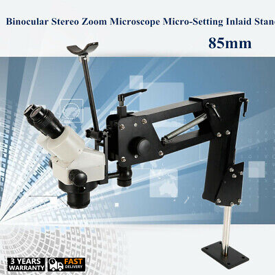 Stereo Zoom Microscope And Micro Inlaid Microscope Micro-setting Jewelry Tool Us