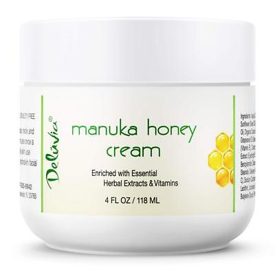 Day and Night Manuka Honey Cream for Face Body | Certified Active 16+ |...
