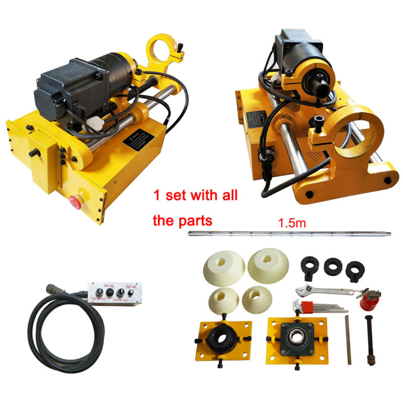 Portable Line Boring Machine Engineering Mechanical Hole Drilling Metalwork Hold