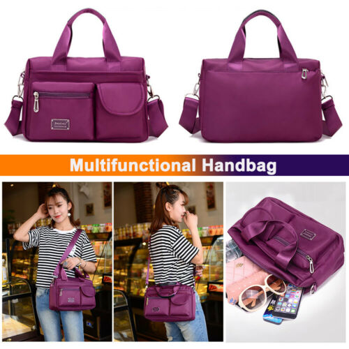 Fashion Nylon Crossbody Shoulder Bags for Women Travel Casua