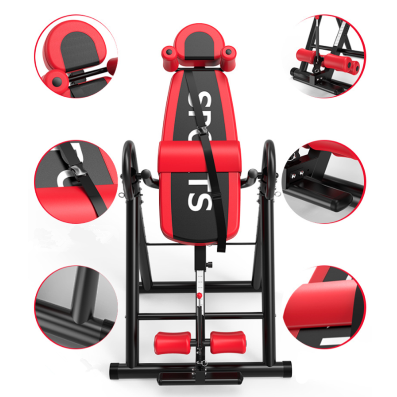 foldable inversion table body back pain exercise