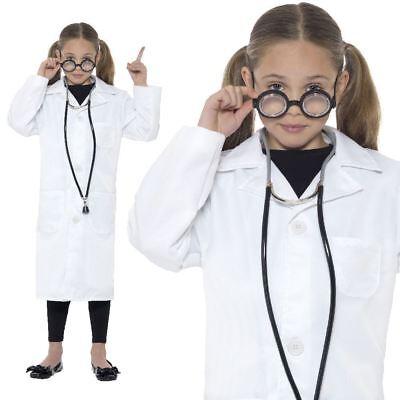 Jungen Laborkittel Mädchen Wissenschaftler Uniform Arzt Kostüm Kinder Berufe Age (Wissenschaftler Kittel)