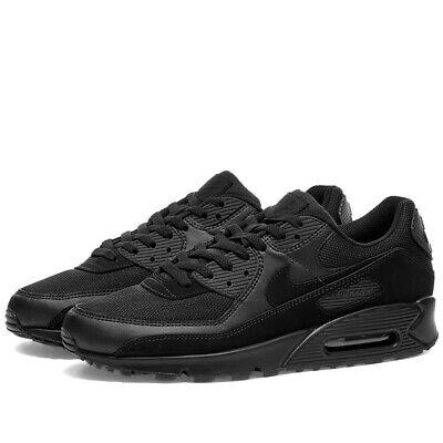 Nike Air Max 90 'Triple Black' Trainers Uk Size 8.5 43 CN8490 003 ...