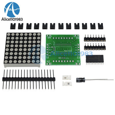 10pcs Max7219 Dot Matrix Module Control Display Module Arduino Diy Kit Cascade