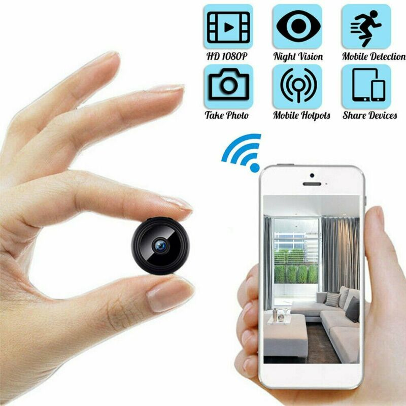 1080P Wireless WiFi CCTV Camera IP Indoor/Outdoor DV Home Security Night IR