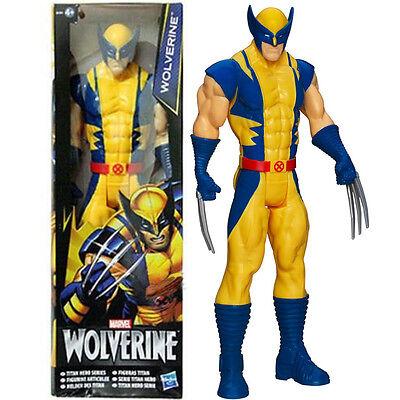 "Marvel: X-Men Wolverine  Titan Hero 12"" PVC  Action Figure  Kids Collection Toy"