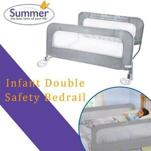 NEW Summer Infant Double Safety Bedrail Condtion: New, No shipping