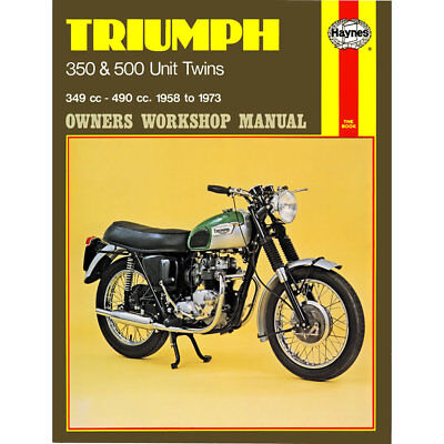 Triumph 350 500 Unit Twins inc Tiger 1958-79 Haynes Workshop Manual